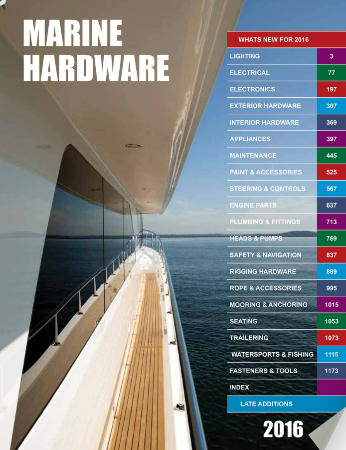 link to marine hardware catalogue